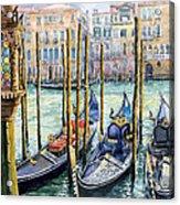 Italy Venice Lamp Acrylic Print