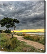 Itchenor West Sussex Hdr Acrylic Print