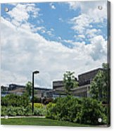 Ithaca College Campus Acrylic Print by Photographic Arts And Design Studio