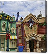 It's A Toontown Christmas Acrylic Print