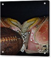 Its All About Football Acrylic Print