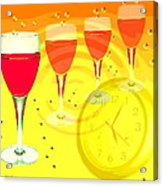 Its Five O'clock Somewhere Acrylic Print