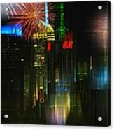 It's New York Acrylic Print