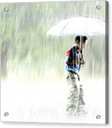 It's Raining Outside Acrylic Print