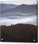 It's The Smokies Folks Acrylic Print by Skip Willits