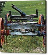 Its Work Is Done Acrylic Print