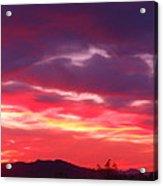 Vivid Sunset Acrylic Print