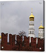 Ivan The Great Belfry Of Moscow Kremlin Acrylic Print