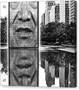 I've Just Seen A Face Acrylic Print