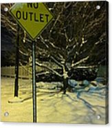 I've Tried To See The Warnings Acrylic Print