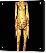 Ivory Doll 1st C.. Roman Art. Early Acrylic Print