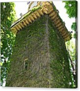 Ivy Along The Watchtower Acrylic Print