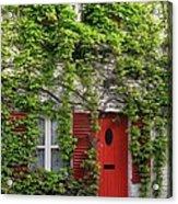 Ivy Cottage Acrylic Print