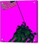 Iwo Jima 20130210 Acrylic Print by Wingsdomain Art and Photography