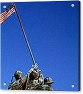 Iwo Jima Memorial At Arlington National Acrylic Print