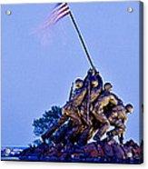 Iwo Jima Memorial At Dusk Acrylic Print