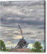Iwo Jima Memorial - Washington Dc - 01131 Acrylic Print