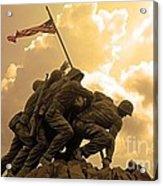 Iwo Jima Memorialized Acrylic Print