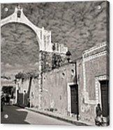 Izamal Arch Acrylic Print