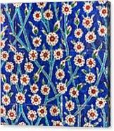 Iznik Tiles In Harem Topkapi Palace Istanbul Acrylic Print