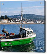 J B P Leaving The Harbour Acrylic Print