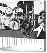J. Geils Band In Oakland 1976 Acrylic Print