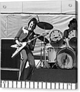 J. Geils On Stage In Oakland 1976 Acrylic Print
