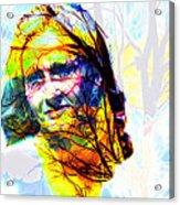 J K Rowling Acrylic Print
