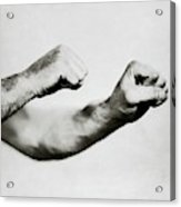 Jack Dempsey's Hands Acrylic Print