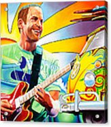 Jack Johnson Acrylic Print