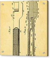 Jack Johnson Wrench Patent Art 1922 Acrylic Print by Ian Monk