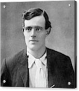 Jack London  American Writer, In 1906 Acrylic Print