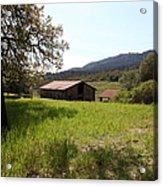 Jack London Stallion Barn 5d22056 Acrylic Print by Wingsdomain Art and Photography