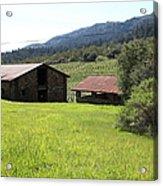 Jack London Stallion Barn 5d22058 Acrylic Print
