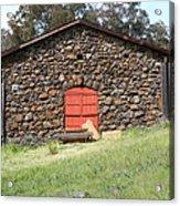 Jack London Stallion Barn 5d22101 Acrylic Print