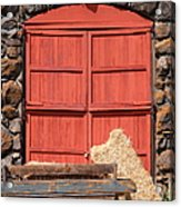 Jack London Stallion Barn 5d22103 Acrylic Print by Wingsdomain Art and Photography
