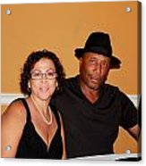 Jackie And James Party 46 Acrylic Print