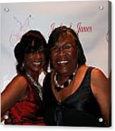 Jackie And James Party 48 Acrylic Print