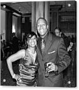 Jackie And James Party 75 Acrylic Print