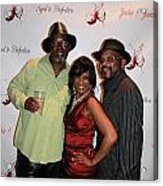 Jackie And James Party 82 Acrylic Print