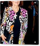 Jackie Kennedy Onassis 1990 Acrylic Print