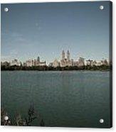 Jackie Onassis Reservoir Acrylic Print