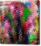 Jacks And Marbles Abstract Acrylic Print