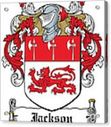 Jackson Coat Of Arms Derby  Acrylic Print