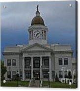 Jackson County Courthouse North Carolina Acrylic Print