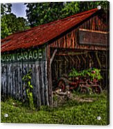 Jackson Garage Acrylic Print