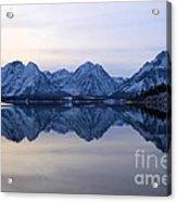 Jackson Lake Reflections Acrylic Print