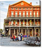 Jackson Square Reading Acrylic Print