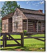 Jacksons Mill Cabin Acrylic Print