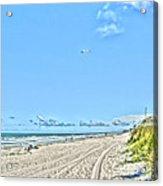 Jacksonville Fl Beach Acrylic Print